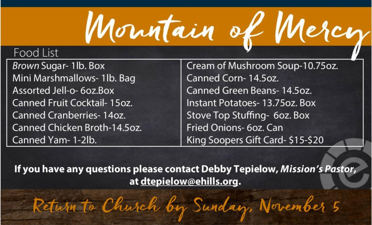 Mountain of Mercy
