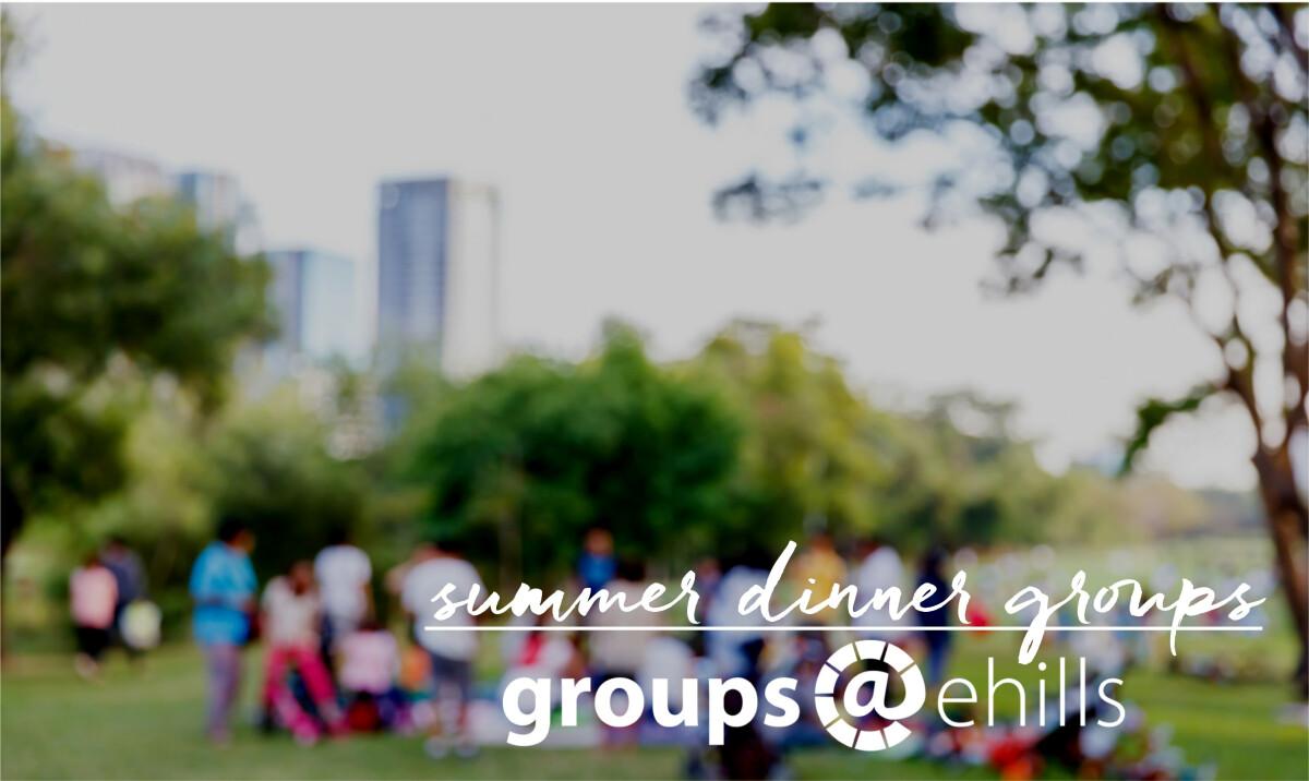Summer Dinner Groups